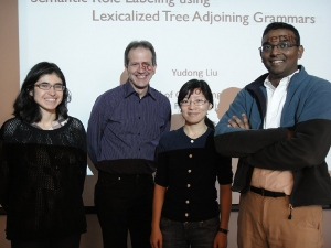 Yudong defends her Ph.D. thesis