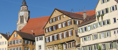 Photo of the Neckarfront in Tuebingen by wolfgang.maier